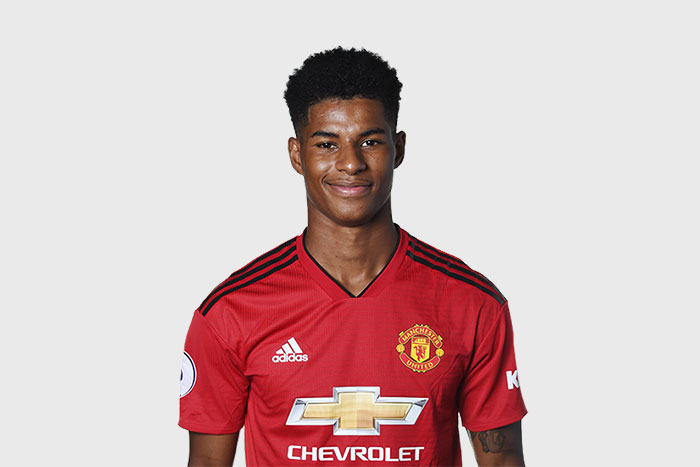 Marcus Rashford - The 4 Best Young Players to Bet on This Season